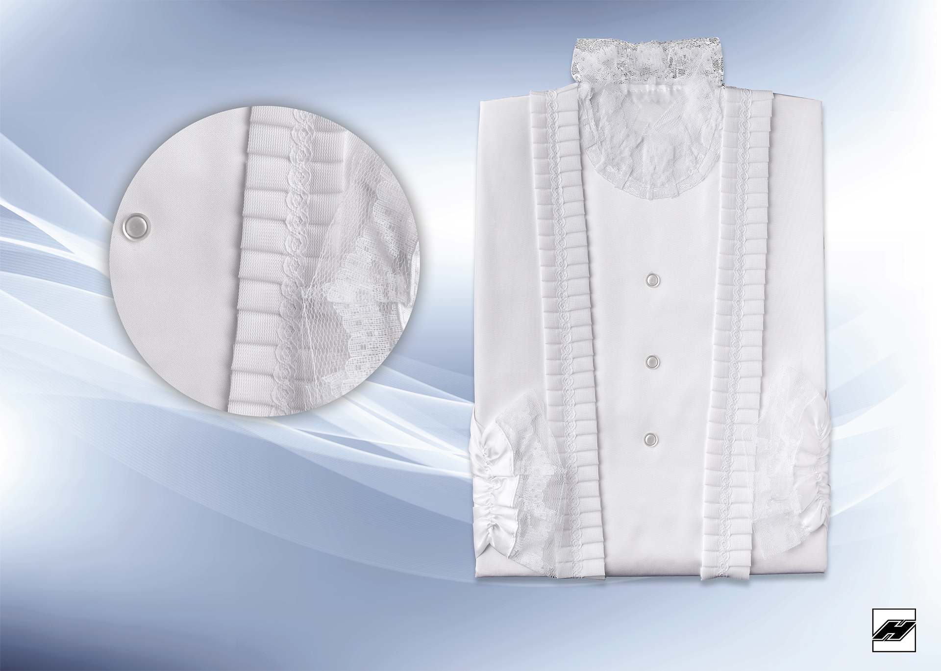 Damenkleid 215 KS weiß