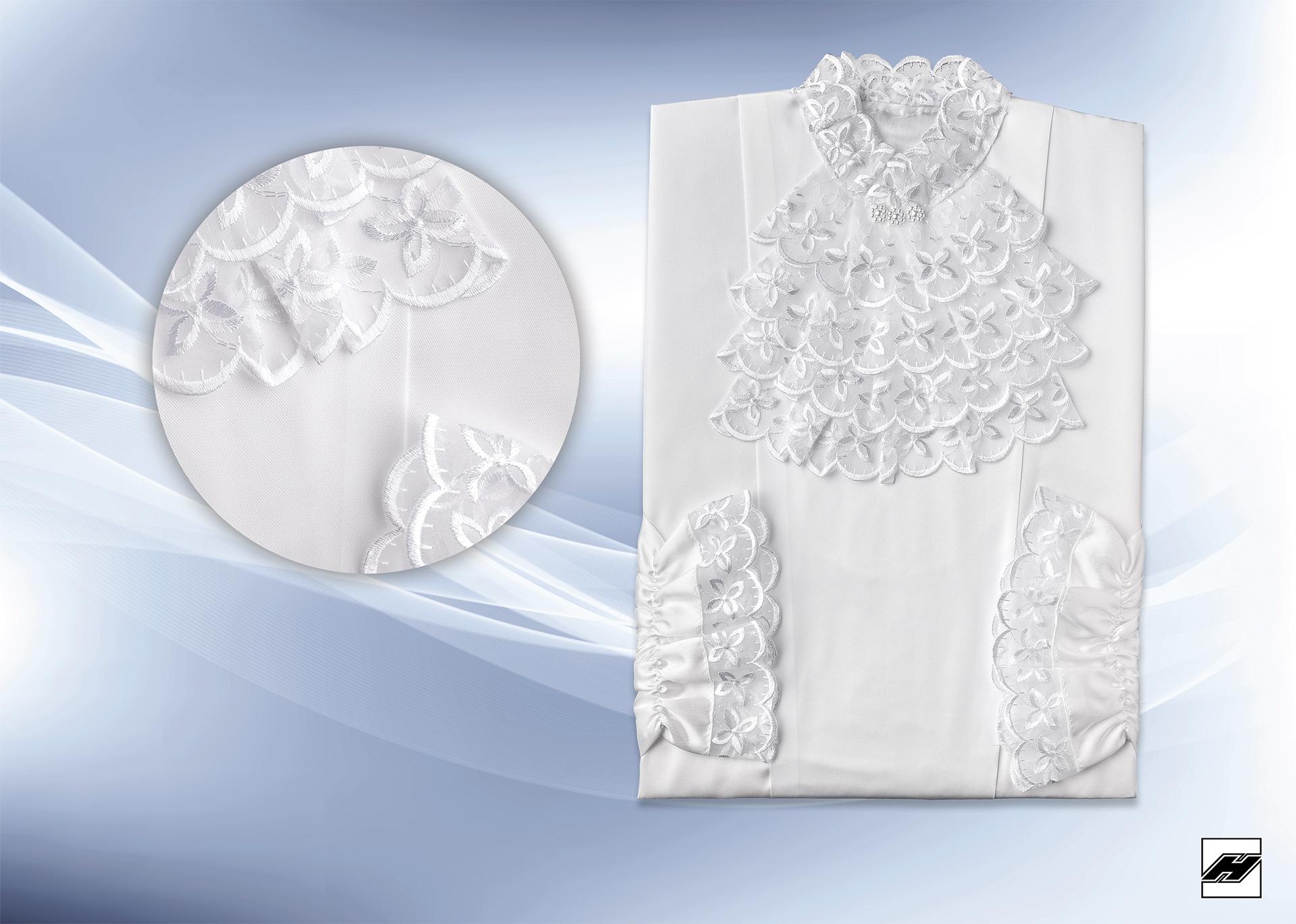 Damenkleid 236 KS weiß