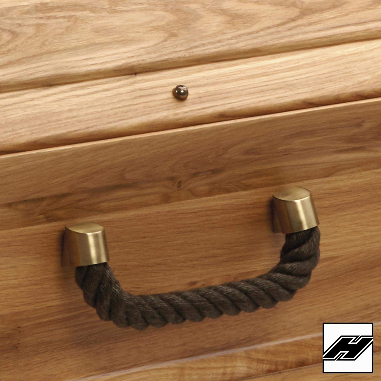 Griffgarnitur 211 balance, flämisch galvanisch 6/6 Seil: dunkel